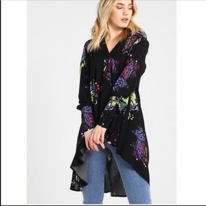 Free People Tops - NWT Free People Field of Butterflies Tunic